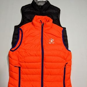 2 Polo Ralph Lauren RLX puff vest size Medium